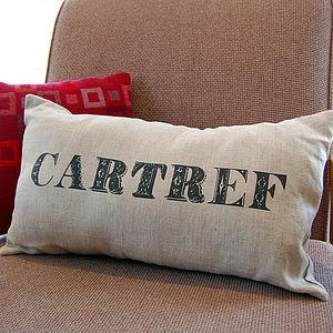'Cartref' Cushion - cushions