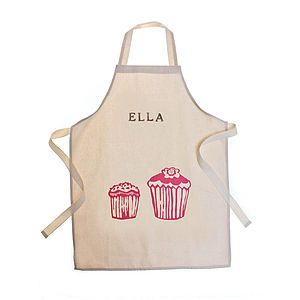 Personalised Printed Adult Apron - winter sale