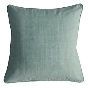Plain Aqua Cushion