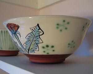 Handmade Dandelion Bowl