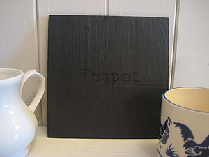 Tea Pot Mat - kitchen accessories