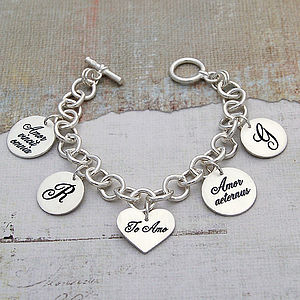 Handmade Personalised Latin Love Bracelet