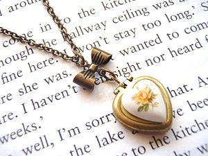 Vintage Heart Locket Necklace - women's jewellery