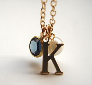 Choose Your Own Initial Charm Necklace - necklaces & pendants