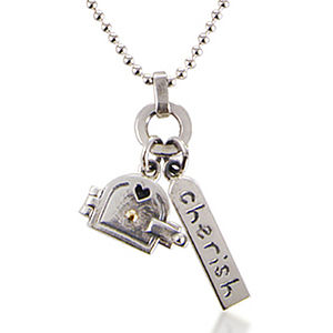 'Love And Cherish' Locket