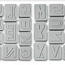 Alphabet Biscuit Cutters