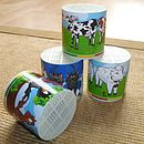 Musical Animal Sound Tubs Toy