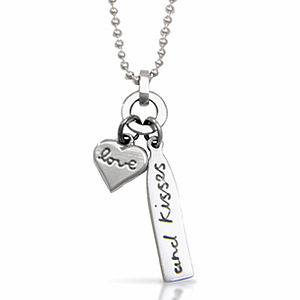 'Love And Kisses' Necklace