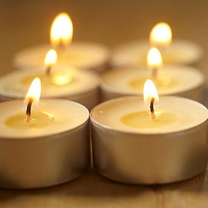Nine Scented Tealights - lights & lanterns