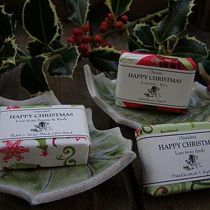 Christmas Soap & Soap Dish Gift For Teachers