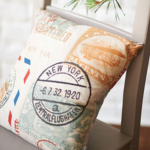 Airmail Cushion - cushions