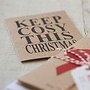 Christmas Card Pack 'Keep Cosy'
