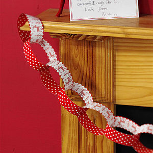 Christmas Paper Chains Set - outdoor decorations