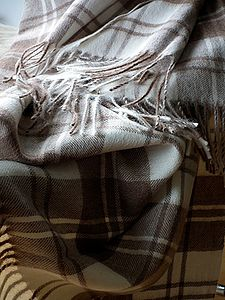 Angela Pure Alpaca Wool Throw - throws, blankets & fabric