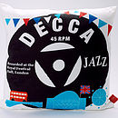 Decca Jazz Record Cushion