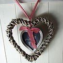 Heart Wreath With Blackboard