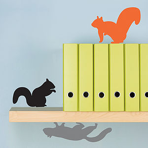 Three Squirrels Wall Stickers