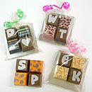 Personalised Chocolate Squares