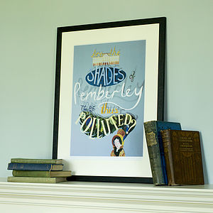 Pride And Prejudice Print