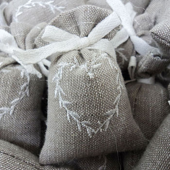 Set Of Three Lavender Bags