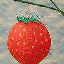 Strawberry Paper Balloon