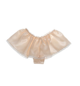 Aurelie Pink Silk Knickers With Lace Trims