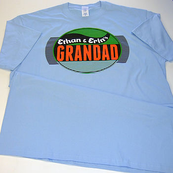 Personalised Grandad T Shirt
