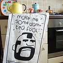 Organic Mr Tea Towel