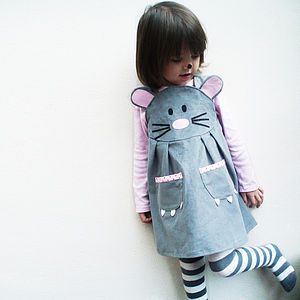 Girls Mouse Play Dress - toys for imaginative children
