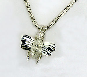 Bumble Bee Necklace - necklaces & pendants
