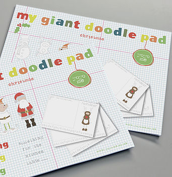 Giant Christmas Doodle Pad