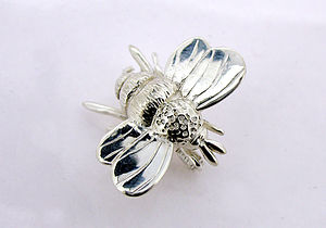 Bumble Bee Brooch - pins & brooches