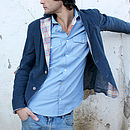 Thumb blue garden men s blazer