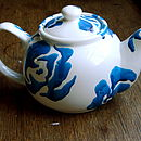 A Blues Tea Pot
