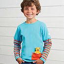 Detachable Teddy T Shirt