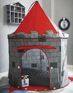 Knight's Castle Play Tent - garden games & toys