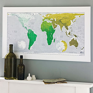 World Map - gifts for travel-lovers