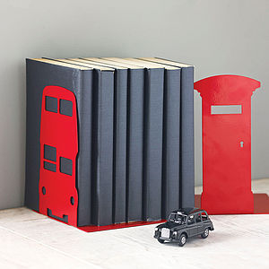London Transport And British Icon Bookend - living room
