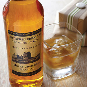 Personalised Speyside Single Malt Whisky - gifts for grandparents