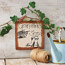 Personalised Wooden Garden Sign