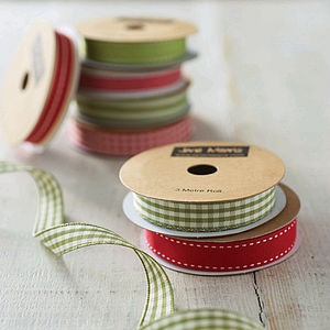 Christmas Ribbon Set - cards & wrap