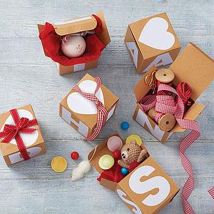 Alphabet Gift Box - cards & wrap