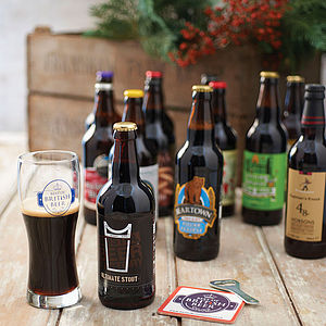 Case Of 12 Best Of British Beers - gifts for fathers
