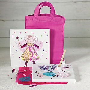 Child's Fairy Canvas Craft Kit - craft & creative gifts for children