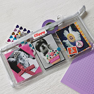 Photo Pocket Pencil Case - gifts under £25