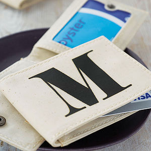 Initial Travel Card Holder - wallets & money clips