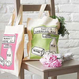 Personalised Printed Shopper Bag - accessories sale