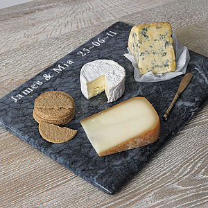 Personalised Large Marble Board - gifts for foodies