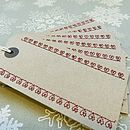 Heart Stitched Gift Tags