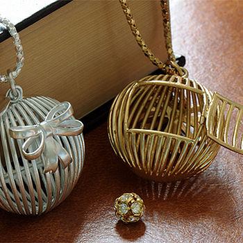 Bird Cage Locket